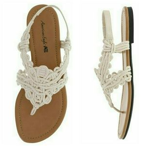 American Eagle Crochet Sandals